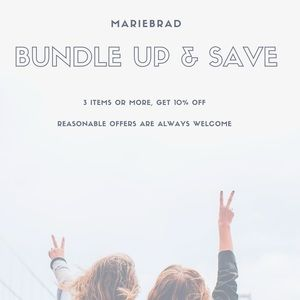 Other - BUNDLE UP AND SAVE 10%
